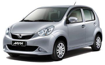 IPRAC - Car rental - Perodua Myvi 1.3