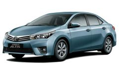 IPRAC - Car rental - Toyota altis 1.8