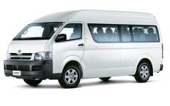 IPRAC - Car rental - Toyota Hiace 2.7
