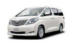 IPRAC - Car rental - Toyota Alphard 2.4